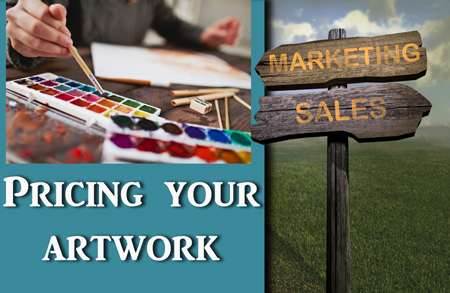 Making a living as an Artist – Pricing Your Artwork