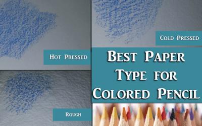 Rough vs Cold Pressed vs Hot Pressed Watercolor Paper