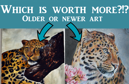 Art Q&A – Are Earlier Paintings Worth More?