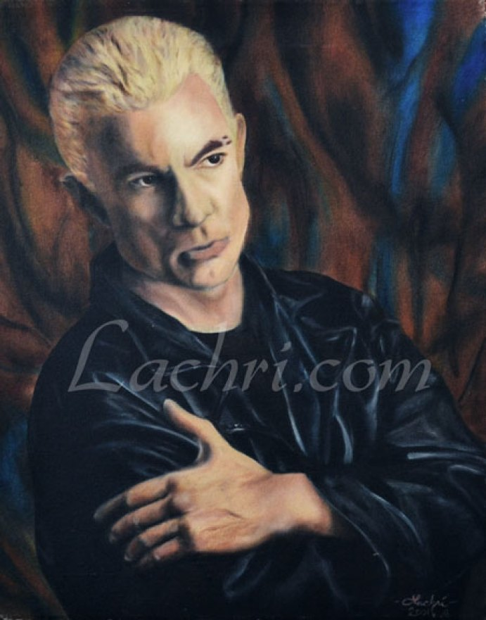James Marsters (Spike) oil painting