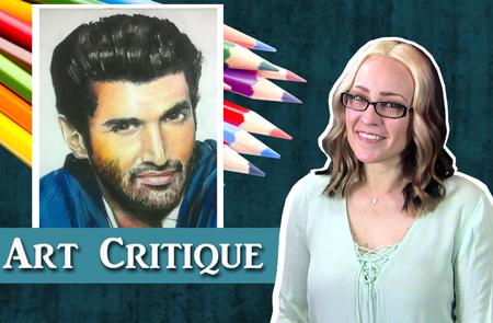 Mixed Media Portrait Critique