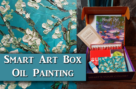 Smart Art Box Impasto Oil Painting