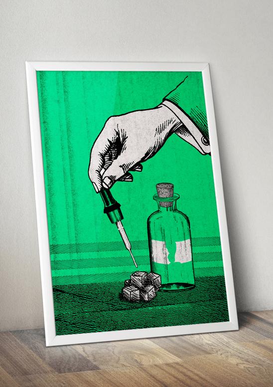 acid poster