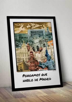 madrid poster