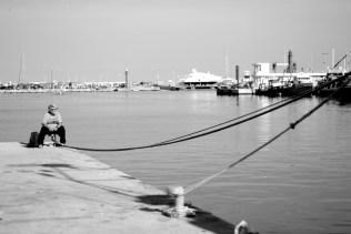 Esperando al mar