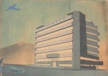 Concurso para el edificio de oficinas Prizad, Belgrado, 1937.