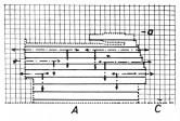esquema estructural de las masas plásticas en movimiento