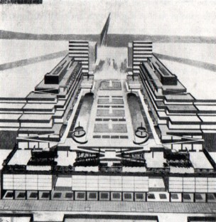 Concurso para la plaza Terazije, Belgrado, 1929.