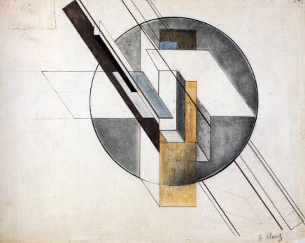 Gustav Klutsis: Construcción, 1921.