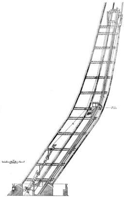 Proyecto de ascensor de la Torre Eiffel