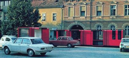 Kiosco K67-agrupado de Sasha Mächtig, 1966