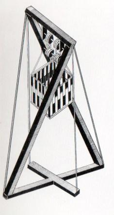 G. Klutsis: Tribuna para oradores. Boceto, 1992.