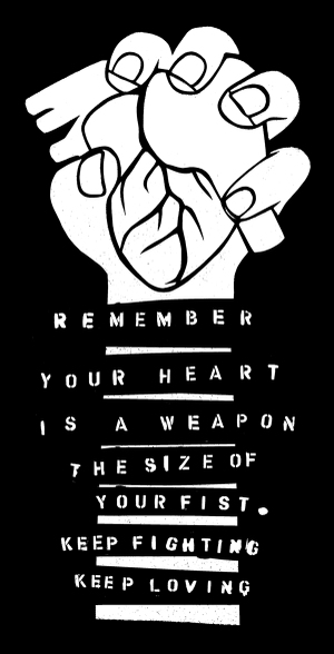 your heart is a weapon