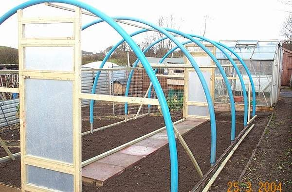 Polytunnels on the cheap (and not so cheap) - Lackan Cottage Farm