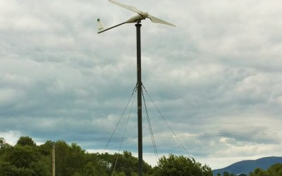 Wind power at the farm