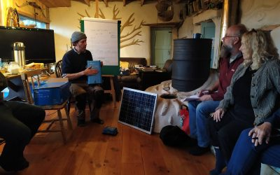 Off grid, resilience and permaculture courses at Lackan