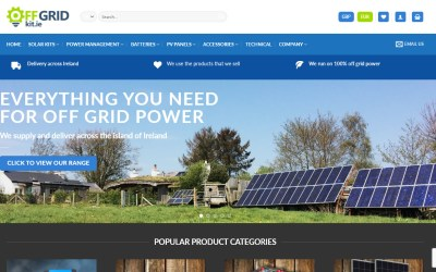Our new venture – Off Grid Kit