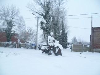 l'américain gèle et dégèle entre deux neiges