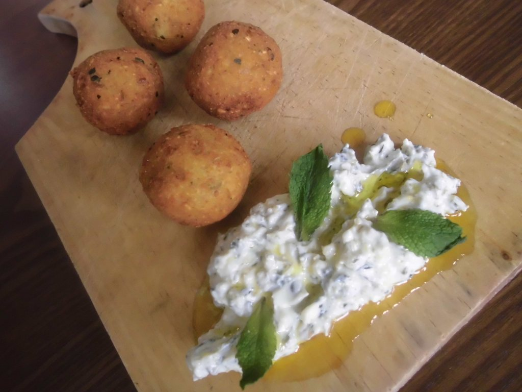 Receta Falafel con salsa tartara de yogur