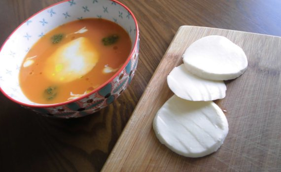 Receta de sopa de tomate