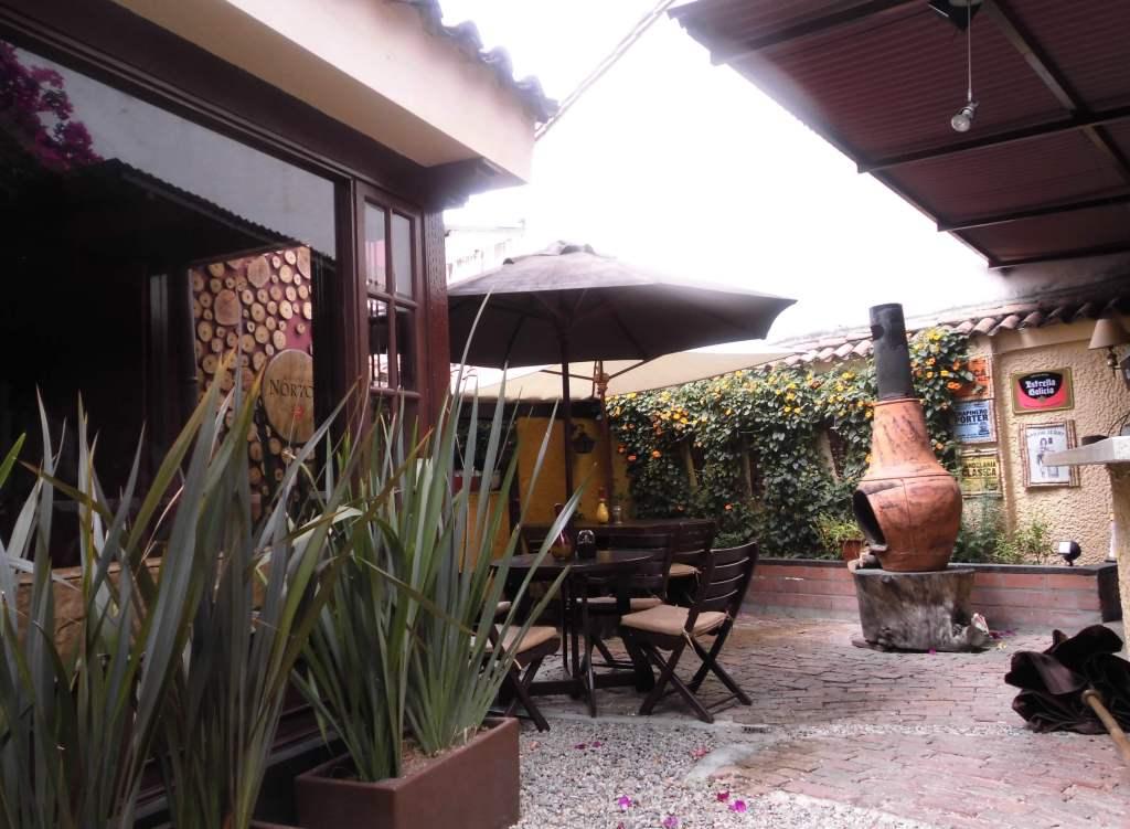 Restaurante Ribeye terraza