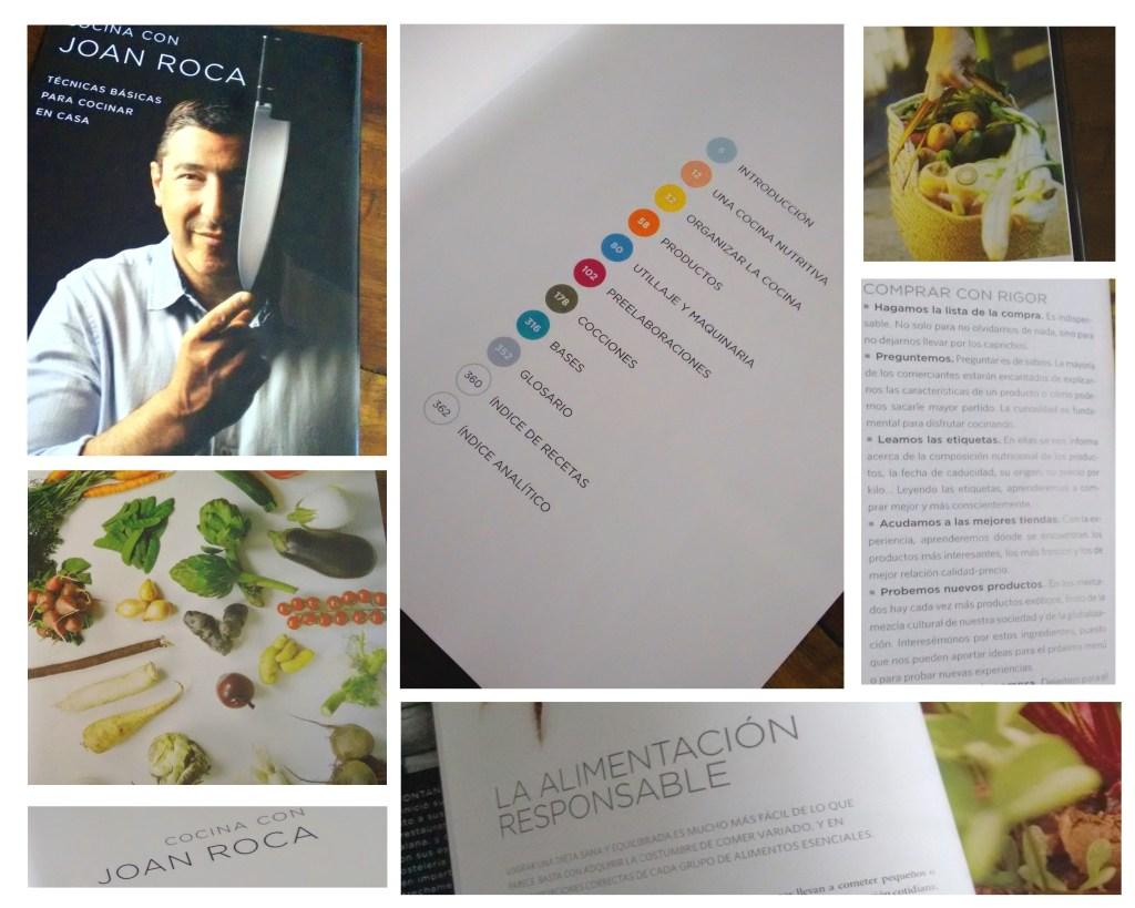 Imágenes del libro de cocina de Joan Roca