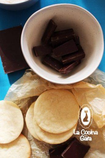 Chocolate picado para derretir
