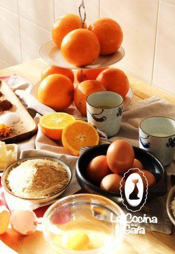 Ingredientes para la tarta especiada