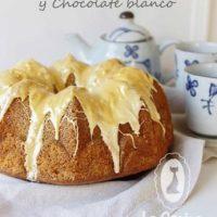 Bundt Cake de Coco Lima y Chocolate blanco