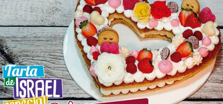 Tarta de San Valentín – Tarta de Israel tendencia 2018