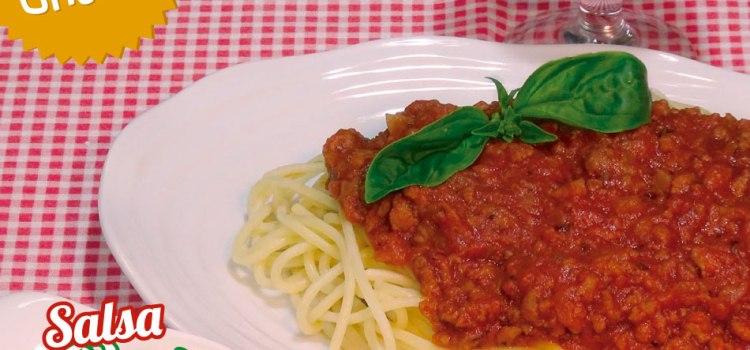 Salsa Boloñesa casera, fácil, deliciosa y hoy con espaguetis