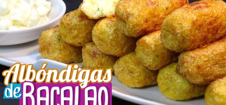 Albóndigas de bacalao tradicionales – Receta típica Valenciana. Receta sin gluten y sin lactosa