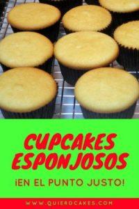 Cómo hacer cupcakes esponjosos