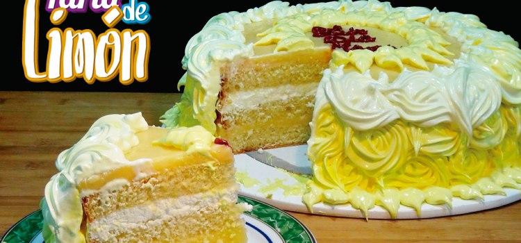 Riquísima Tarta de limón – Especial Día de La Madre