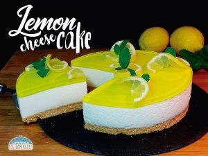 Lemon cheesecake - Tarta de queso y limón tipo mousse (SIN HORNO) - Pay de limón