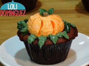 Cupcakes ESPECIAL HALLOWEEN, decorados con buttercream