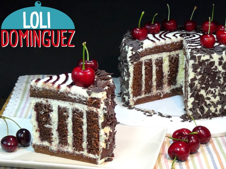 Tarta Selva Negra rallada ¡Sorprendente y original!