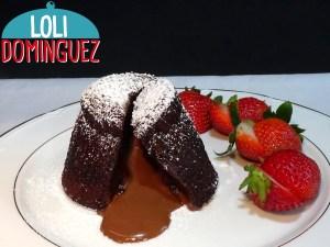 Volcán de chocolate o coulant de chocolate súper perfecto