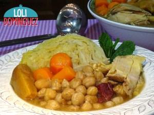 Cómo hacer Garbanzos con pollo y verduras. Receta fácil y saludable, No te pierdas esta receta explicada paso a paso.