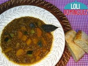 Para vegetarianos, veganos y para todo el mundo. Cómo hacer unas Lentejas con Verduras, riquísima receta saludable