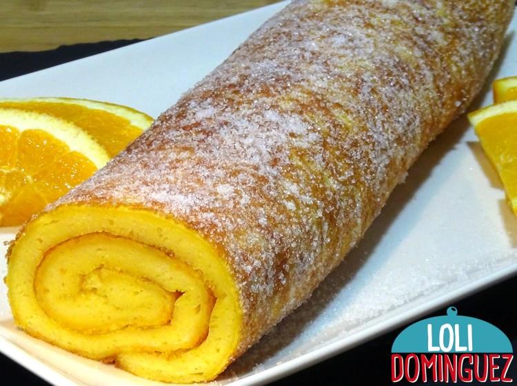 Cómo preparar paso a paso un esponjo y delicioso Tronco de Naranja a la Portuguesa (Torta de naranja), tan fácil y jugoso que el hacer esta receta es un triunfo asegurado