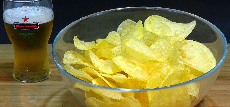 Patatas chips súper crujientes, perfectas y muy fáciles. Loli Domínguez