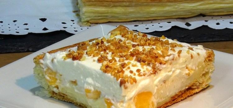 TARTA REGINA ¡¡SIMPLEMENTE DELICIOSA!! Preparada con masa de hojaldre, crema pastelera y nata además de mi toque personal con fruta de temporada hacen de esta tarta una explosión de sabores