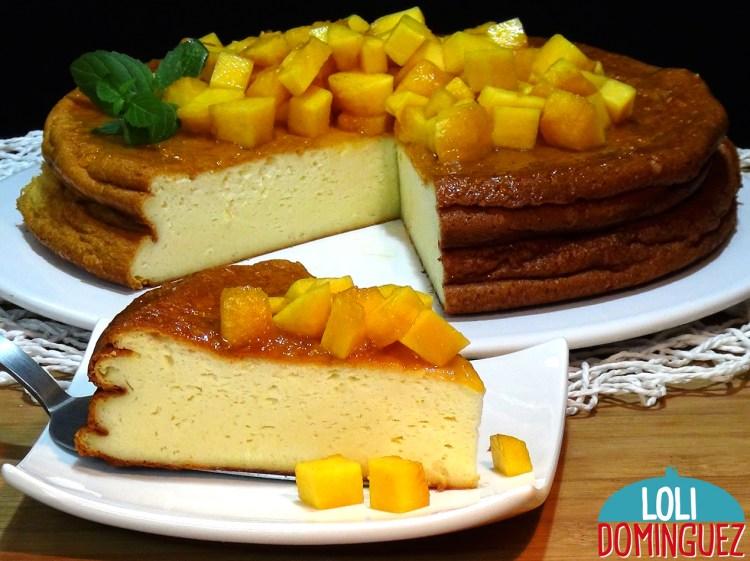 PASTEL TURCO o Tarta de yogur griego, fácil y deliciosa tarta de yogurt que recuerda mucho a las tartas de queso, con una textura esponjosa y súper jugosa que se convertirá en una de tus tartas favoritas