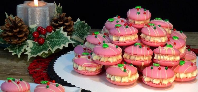 MACARONS ESPECIAL NAVIDAD. Las galletitas francesas que hacen las delicias de toda la familia, ideales para cualquier celebración, para decorar tartas o para preparar una mesa dulce