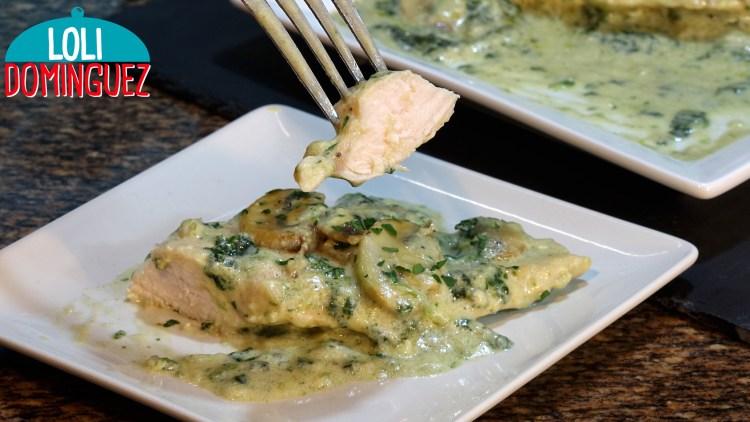 POLLO A LA TOSCANA, UNA CARNE JUGOSA EN UNA SALSA RIQUÍSIMA. Además de fácil y rápida esta receta es más que completa como plato único acompañado de una ensalada o como cena, pero también se puede mezclar con pasta