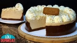 TARTA DE GALLETAS LOTUS SIN HORNO Y ¡RIQUÍSIMA! Una tarta fácil y rápida de hacer, que queda con una consistencia cremosa y con una base tierna, además de un sabor espectacular a galletas Lotus que están tan ricas, la mezcla de ingredientes hace que sea una tarta ligera y no muy dulce