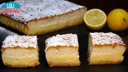 TARTA DE LIMÓN Y YOGUR, TIERNA, JUGOSA Y DELICIOSA. Esta tarta te va a encantar! tiene un sabor riquísimo con el toque acido de la crema de limón y la capa de tarta de yogur que es un placer para todos los sentidos, ya que se ve muy bonita
