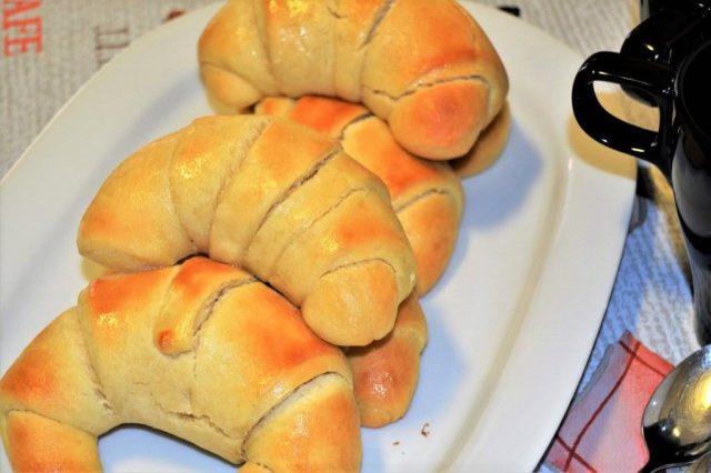 trenza de pan dulce
