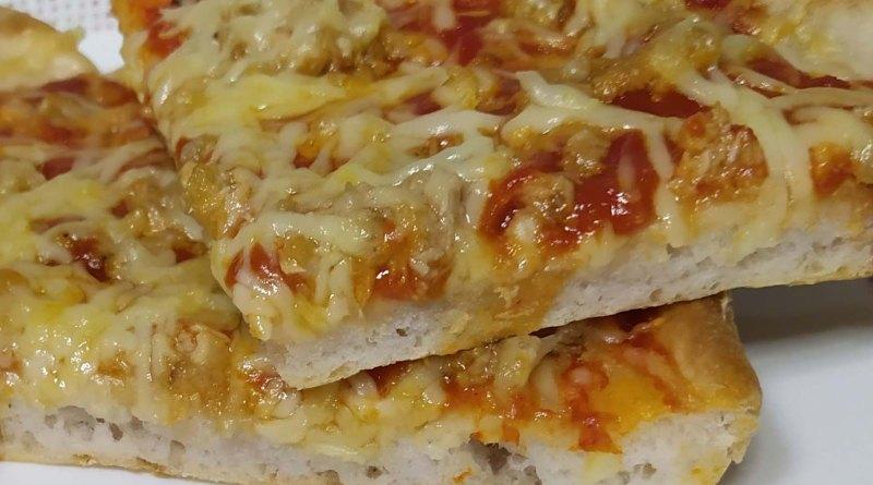 Masa de pizza sin gluten